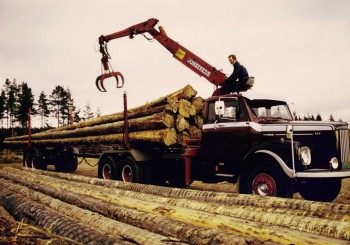 Provbil Scania 111 -75